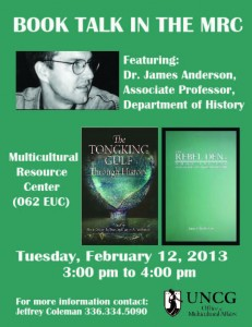 Book Talk: Featuring Dr. James Anderson