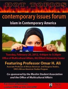 Featuring: Professor Omar H. Ali