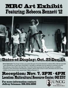 UNCG Student Rebecca Bennett